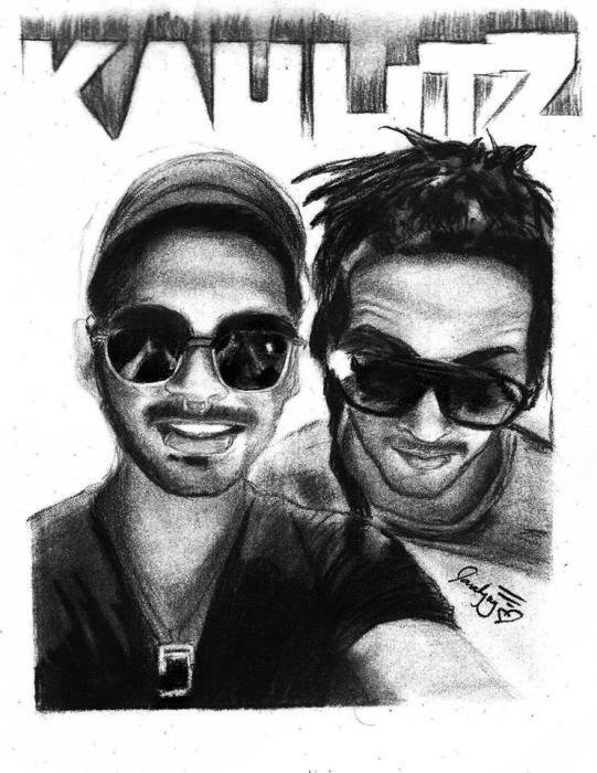 Tom Kaulitz, Bill Kaulitz by lara-0630